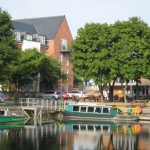 The canal basin, Egremont trip boat & canal centre