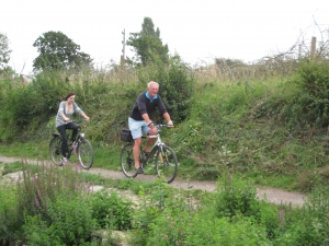 Cycling the Chichester Canal