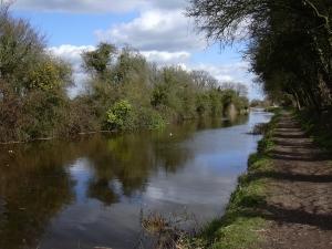 Canal north of Crosbie Bridge
